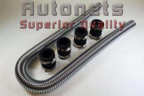 "48/"" Stainless Steel Radiator Hose Universal Fit Street Hot Rat Rod"