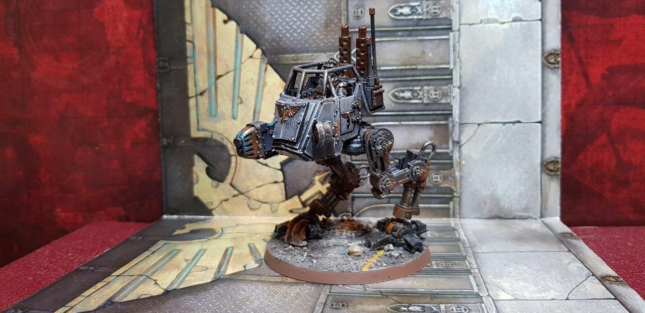 Death Korps de Krieg Sentinel conversión Raro Pintada  2 Warhammer 40k