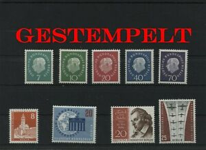 Germany-Berlin-vintage-yearset-1959-Postmarked-Used-complete-More-Sh-Shop