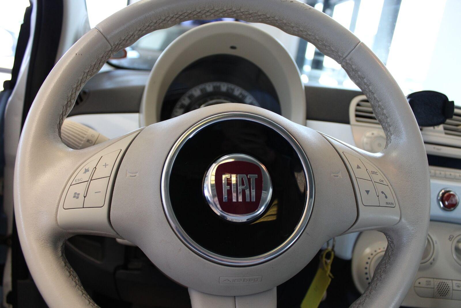 Fiat 500 1,2 Lounge - billede 6