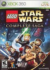LEGO Star Wars: The Complete Saga (Microsoft Xbox 360, 2007)