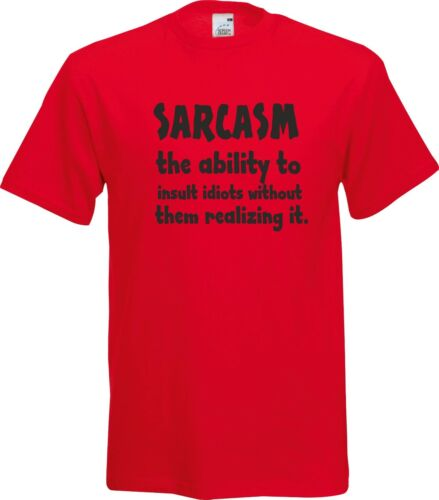 Sarcasme le abilty à insulter imbéciIes drôle Sarcastique de Noël T Shirt
