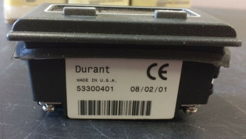 Durant 53300401 Electric Totalizing Counter