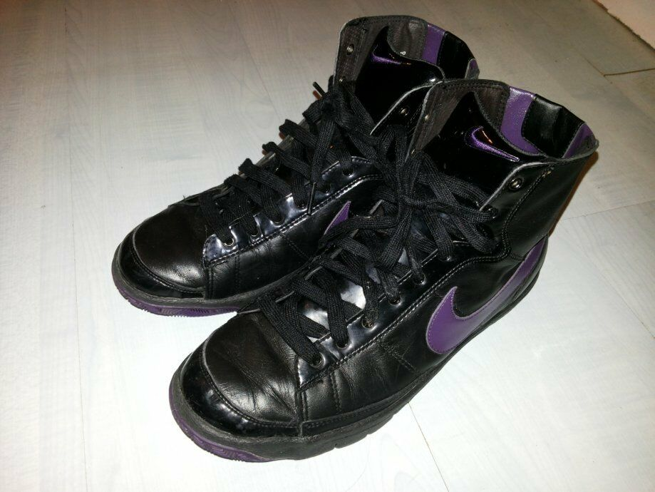 2154899b921b6 WoHommes Nike Blazer Mid High Sneaker Neuf gr 36 gr 36 gr 36 Vandal  313722-052 Black Purple eb6c56