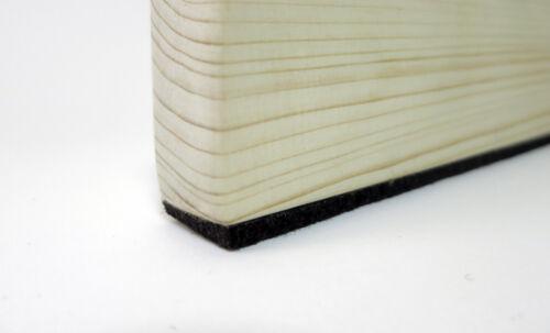 3mm dick Filzband braun stark selbstklebend 10m Filzstreifen 20mm breit