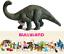 Figurines-Dinosaures-Brontosaure-Peint-Main-Monde-Prehistorique-Bullyland-61354 miniature 1
