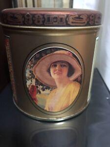 1988-Vintage-Coca-Cola-Collectibles-Metal-Tin-Empty-Box