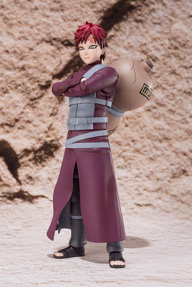 Naruto Shippuden Gaara S.H. SH Figuarts Action Figure TAMASHII WEB EXCLUSIVE