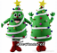 Christmas Tree Santa Snowman Mascot Fancy Dress Festival Party Costume Adult ADS