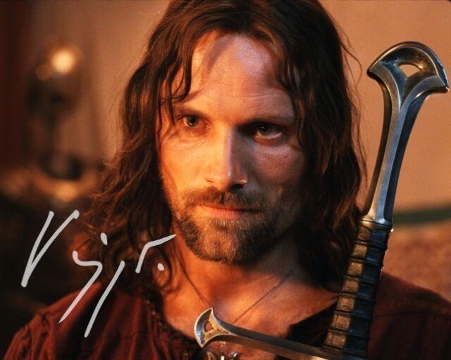 Viggo Mortensen ++ Autogramm ++ Herr der Ringe ++ Aragorn ++ Die Akte Jane