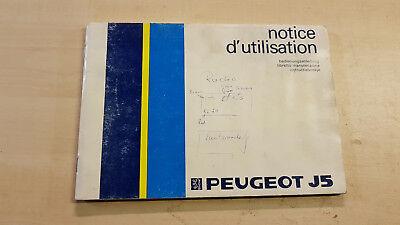 Peugeot J5 Manuale Di Istruzioni Manuale D'uso-ung Bedienungsanleitung It-it