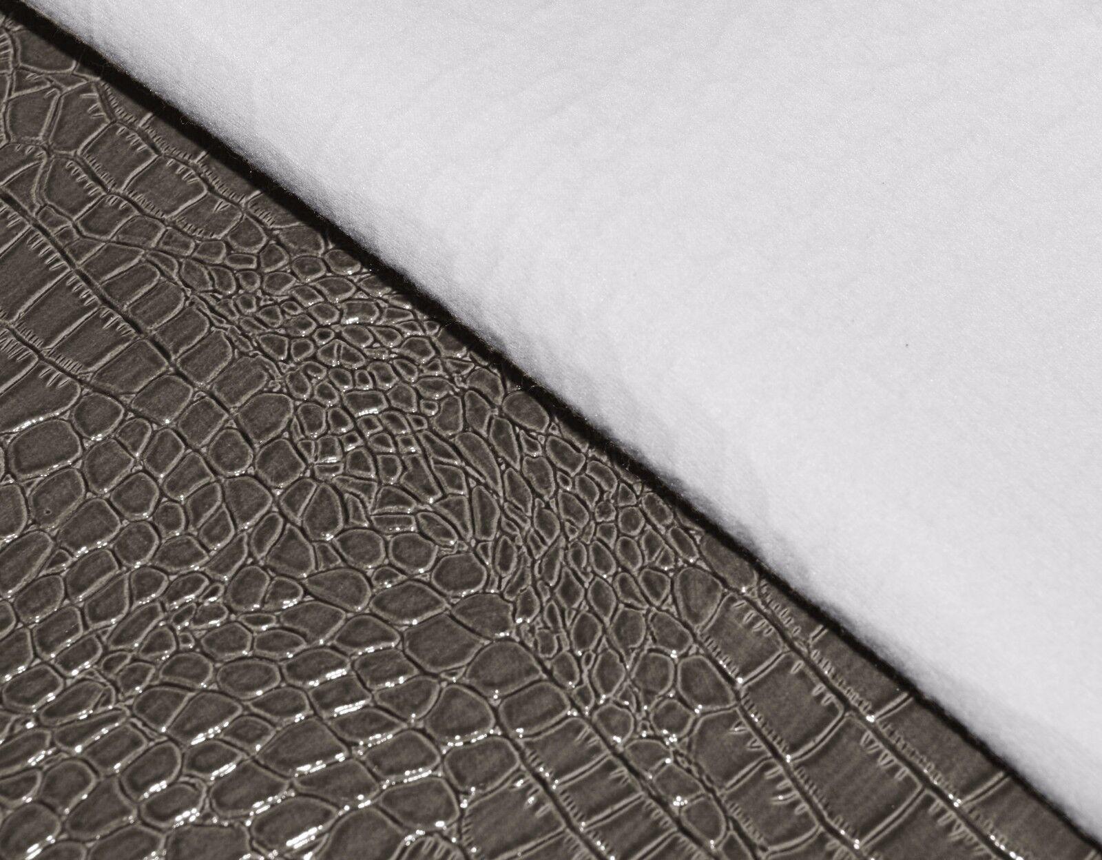 pd1021r Ash Silver Grey Round Faux Crocodile Glossy Leather Cushion Cover Custom