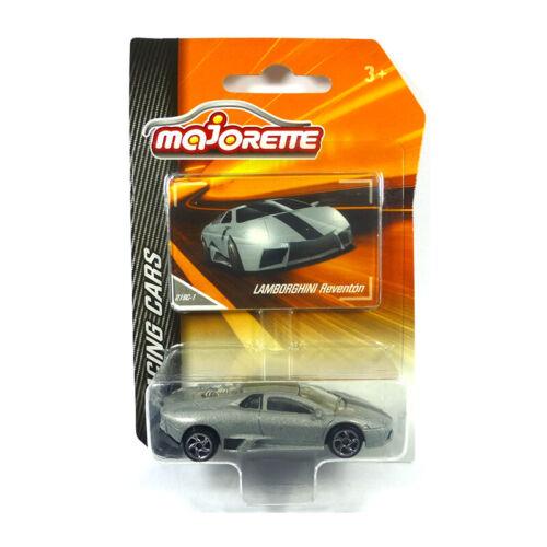 Majorette 212084009 Lamborghini reventon plata-Racing Cars 1:64 nuevo °