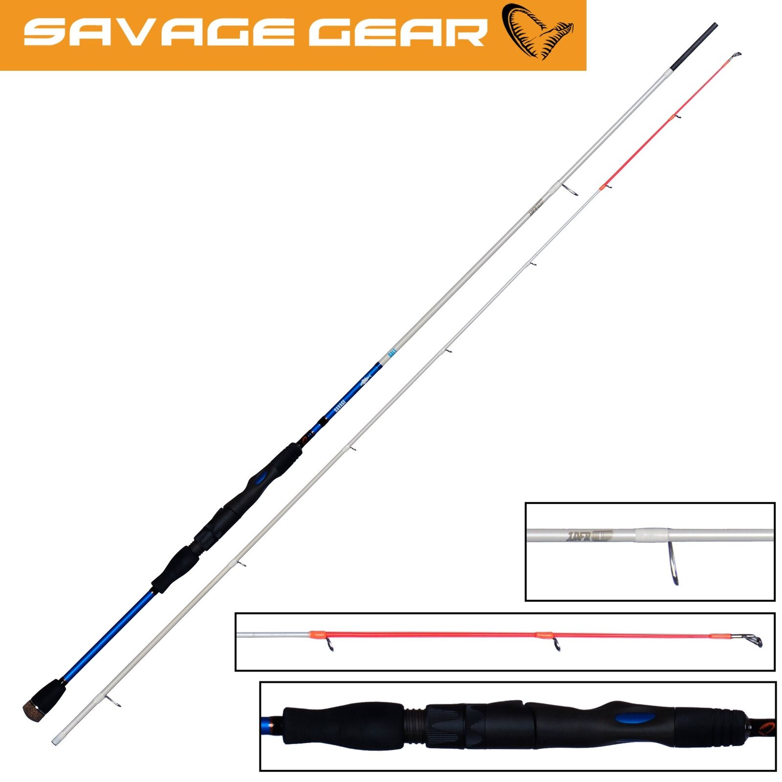 Savage Gear Salt 1DFR 1DFR 1DFR Ultra Light 218cm 8-18g - Spinnrute, Meeresrute, Angelrute 9f39c5