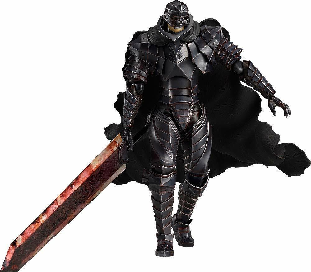 Figma Berserk agallas berserker Armor Ver. Pintar Cráneo Edición Max Factory Nuevo