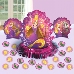 Image Is Loading Disney Princess Tangled Rapunzel Birthday Party Table Decorating