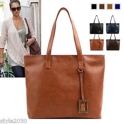 NEW Women Ladies Shoulder Bag Tote Satchel Faux Leather Purse HandBags Purse