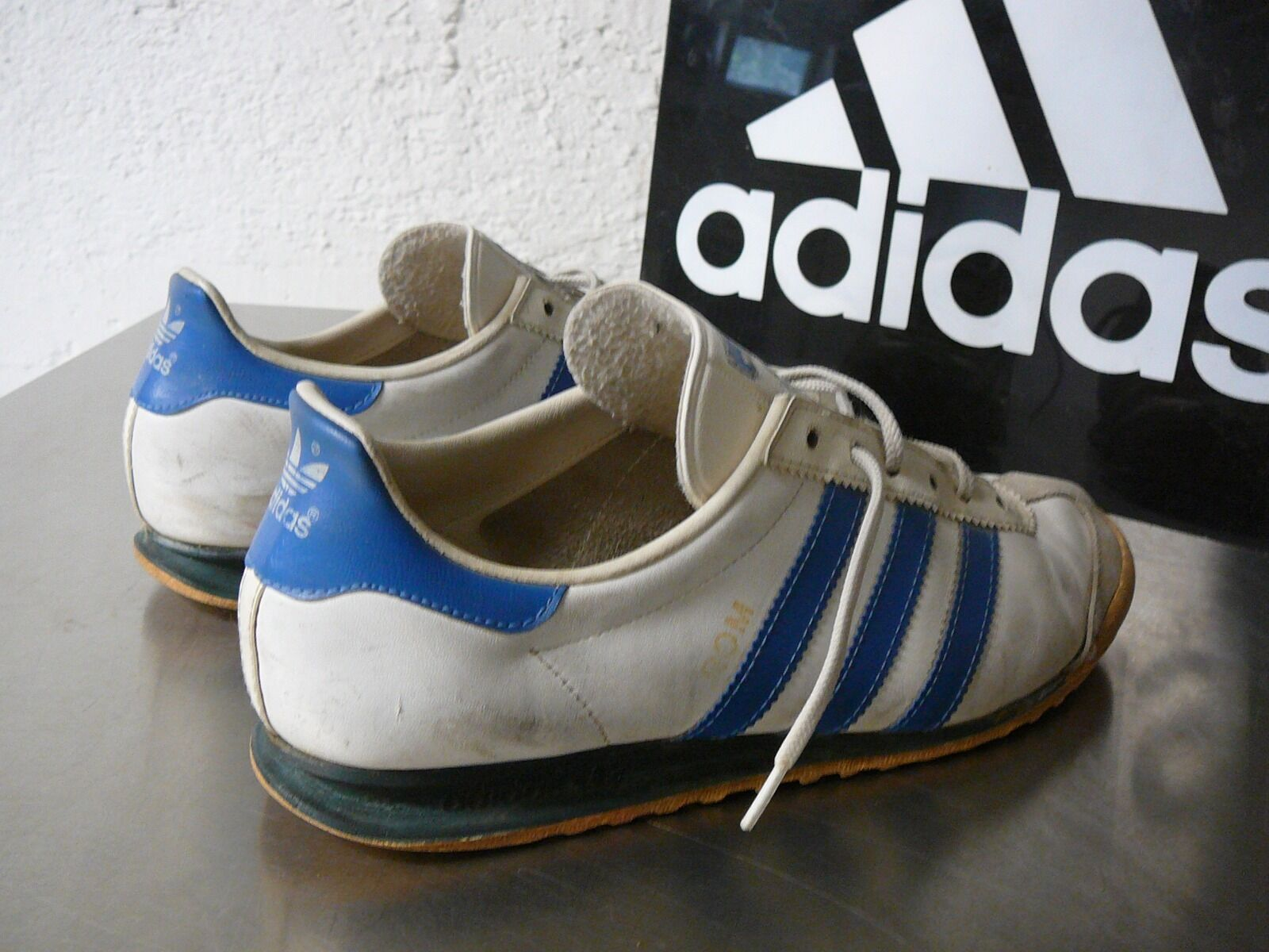 Adidas vintage Rom UK 5 Made in in in West-Germany Trainers vintage no retro 445e82