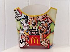 Rare Retro Vintage 2014 McDonalds 2014 Brazil World Cup Collectable Fries Holder