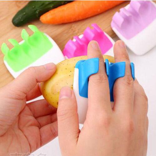 Finger Held Palm Peeler Easy Hold Vegetable Fruit Slicer Peeler Tool GVUS