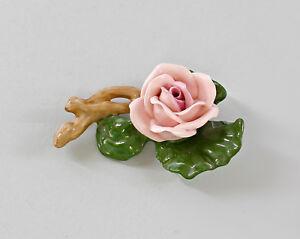 9997405-Porzellan-Figur-Tisch-Blume-Rose-Zweig-rosa-Ens-4x6cm