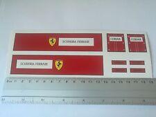 Ferrari trailer H0/1:87 water transfer decals