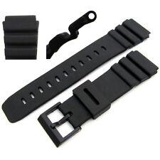 Watch Band 22mm/25mm to fit Casio AD520C, AMW320C, BM500WJ BM510WJ DEP700 DEP610