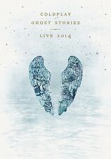 COLDPLAY - GHOST STORIES LIVE 2014  CD + BLU-RAY NEU