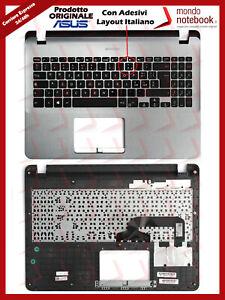 Tastiera-con-Top-Case-Palmrest-ASUS-X507UA-F507UA-con-Adesivi-Layout-Italiano