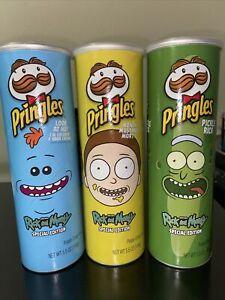 Rick Y Morty Limited Edition Pringles Juego De 3 Ebay