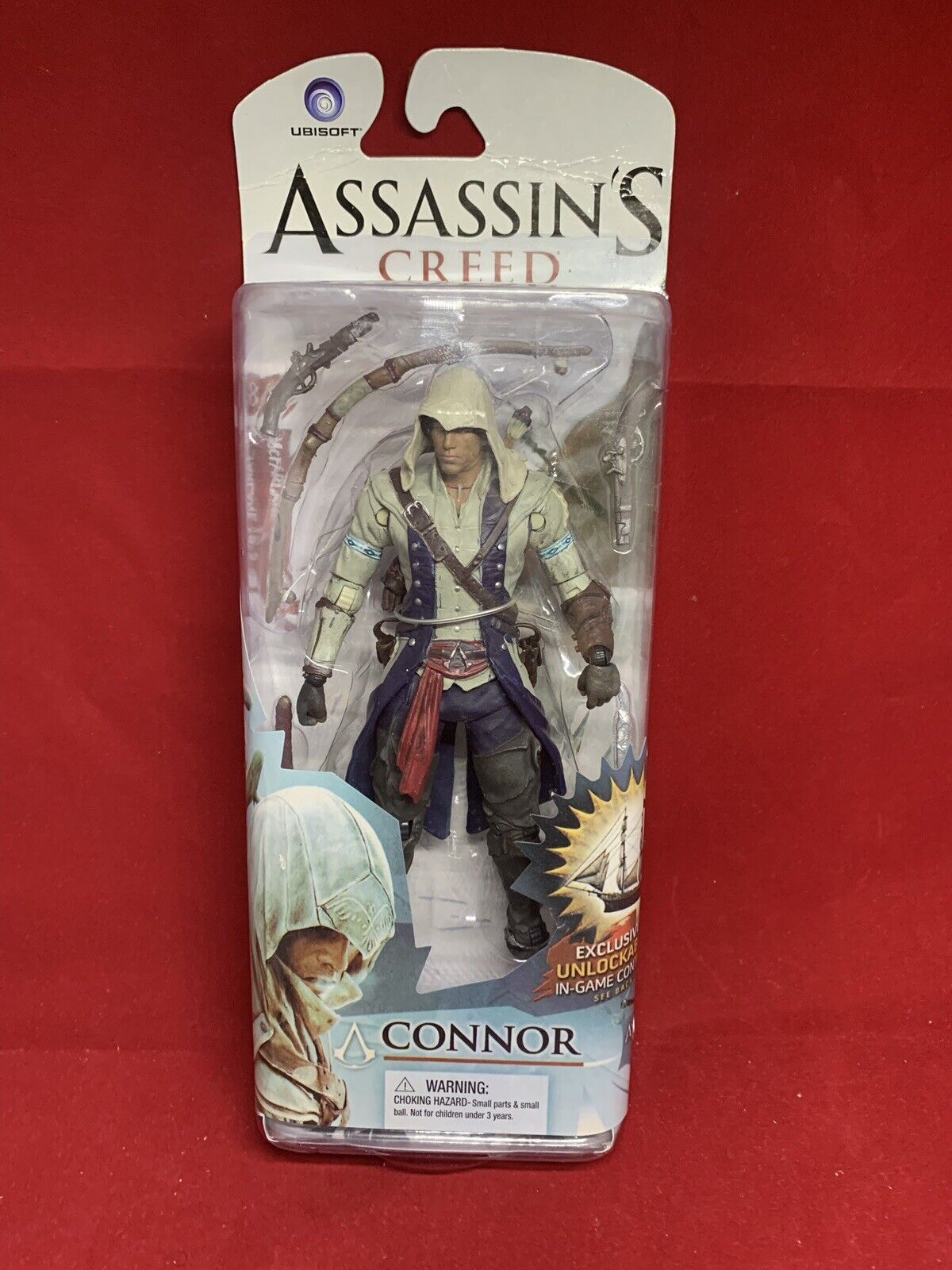 McFarlane leksaker Assassin s Creed Connor Action Figur Ny