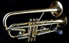 Double  Bell Bb Trumpet/Cornet &Getzen Case