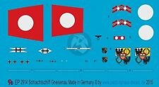 Peddinghaus 1/1250 Gneisenau German Battleship WWII Markings (w/Floatplane) 2914