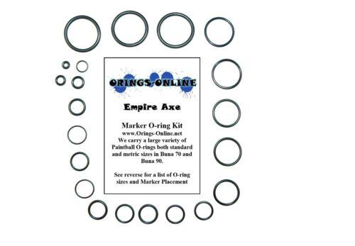 kits Empire Axe Paintball Marker O-ring Oring Kit x 4 rebuilds