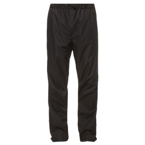 Vaude fluid Pants II lluvia pantalones negro