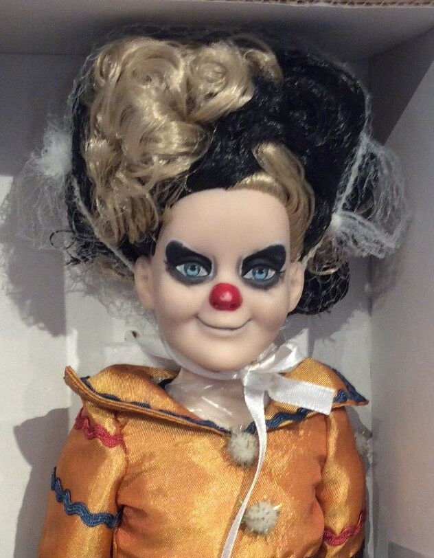 Tonner Re-Imagination Giggles clown doll NRFB LE 1000 Sinister Circus
