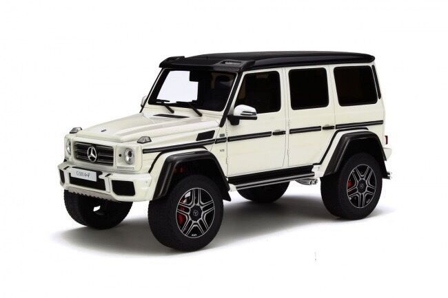 MERCEDES-BENZ g500 4x4 1:18 resin GT-SPIRIT NUOVO & OVP gt142