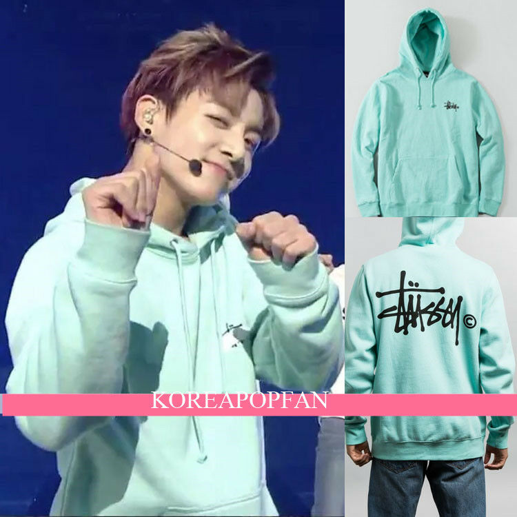 Bangtan Boys JUNGKOOK JUNG KOOK hoodie Kpop GOODS GREEN SWEATER NEW