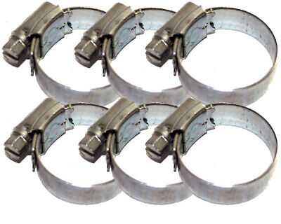 Pack of 6 Rotax Max X30 Radiator Hose Jubilee Clips Best Price