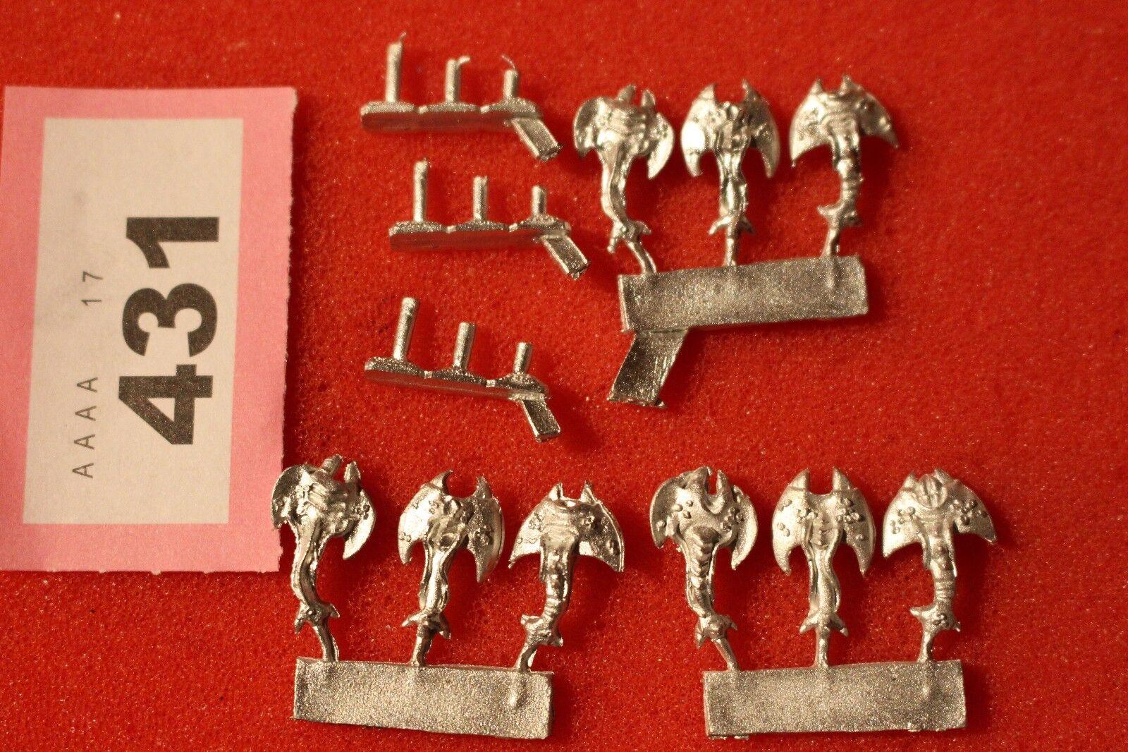 Warmaster Caos DAEMON Screamers di Tzeentch NUOVO 10mm Games Workshop in metallo fuori catalogo