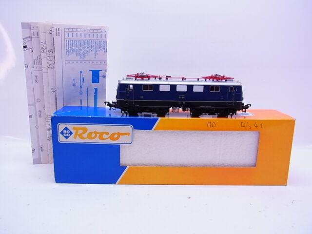 Lote 61286 Roco H0 43636 Locomotora Eléctrica E41 Azul El DB Digital En Emb.orig