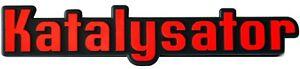 Auto-3D-Relief-Schild-Katalysator-KAT-Emblem-14-cm-HR-Art-14832-selbstklebend