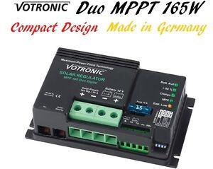 Votronic Duo MPP MPPT Solar Regulator Charge Controller LiFePo4 Lithium Lead 165