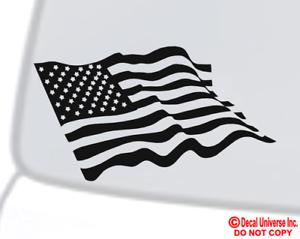 American Flag Vinyl Decal Sticker Car
