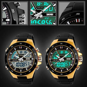 Men-039-s-Military-Multi-function-Digital-Quartz-Wrist-Watch-Watches-Water-Resistant