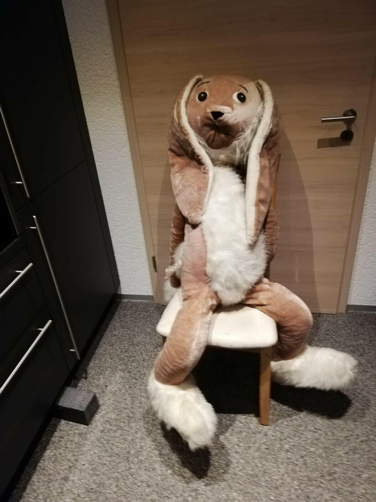Osterhase  Stofftier Hase Forster Spielzeug Dekoration 1 40Meter