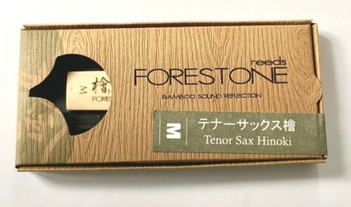 FORESTONE Hinoki  MS // 2 Bambus Kunststoff Tenor Saxophon Blatt