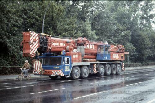Foto camiones Demag grúa kranvermietung berlín 10x15//lf101
