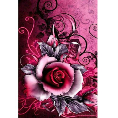 5D Full Drill Diamond Mosaic Painting DIY Rose Cross Stitch Kits Home Decor