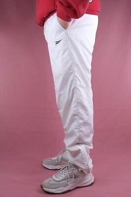 Reebok Sporthose Herren Trainingshose weiß 90er TRUE VINTAGE
